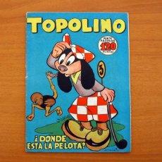 Tebeos: TOPOLINO - DONDE ESTA LA PELOTA, Nº 8 - EDICIONES CLIPER 1950. Lote 129713667