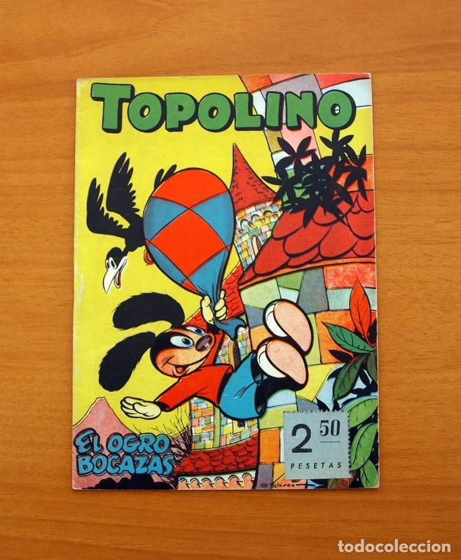 TOPOLINO - EL OGRO BOCAZAS, Nº 9 - EDICIONES CLIPER 1950 (Tebeos y Comics - Cliper - Otros)