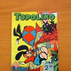 Tebeos: TOPOLINO - EL OGRO BOCAZAS, Nº 9 - EDICIONES CLIPER 1950. Lote 129713795