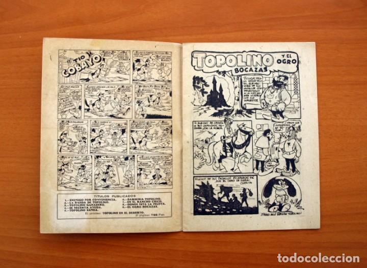 Tebeos: Topolino - El Ogro bocazas, nº 9 - Ediciones Cliper 1950 - Foto 2 - 129713795