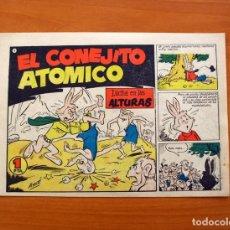 Tebeos: EL CONEJITO ATÓMICO - LUCHA EN LAS ALTURAS, Nº 4 - EDICIONES CLIPER 1958. Lote 129714003
