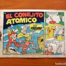Tebeos: EL CONEJITO ATÓMICO - EL TESORO, Nº 5 - EDICIONES CLIPER 1958. Lote 129714087