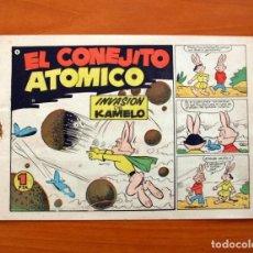 Tebeos: EL CONEJITO ATÓMICO - INVASIÓN DE KAMELO, Nº 6 - EDICIONES CLIPER 1958. Lote 129714275