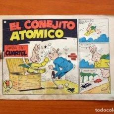 Tebeos: EL CONEJITO ATÓMICO - LUCHA SIN CUARTEL, Nº 7 - EDICIONES CLIPER 1958. Lote 129714351