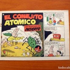 Tebeos: EL CONEJITO ATÓMICO - LOS MONSTRUOS DEL DESIERTO, Nº 8 - EDICIONES CLIPER 1958. Lote 129714483