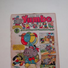 Tebeos: YUMBO Nº 3 - AÑO I - SEMANARIO INFANTIL - EDITORIAL CLIPER 1953. Lote 130730829