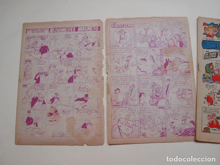Tebeos: YUMBO Nº 3 - AÑO I - SEMANARIO INFANTIL - EDITORIAL CLIPER 1953 - Foto 3 - 130730829