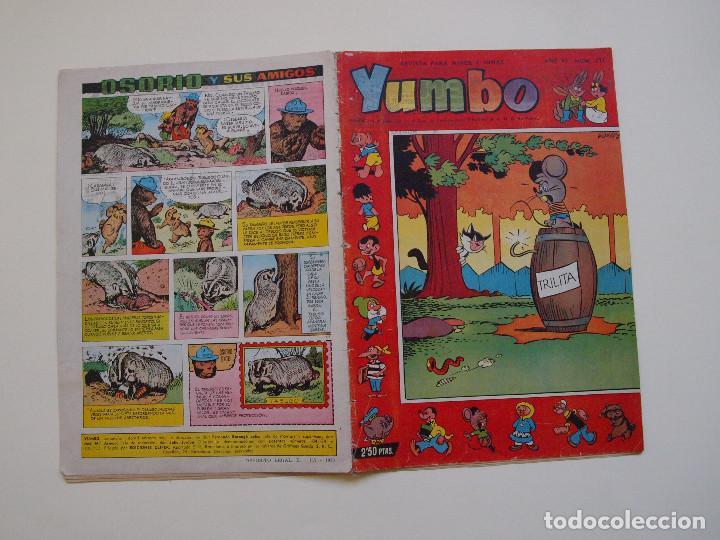 YUMBO Nº 277 - AÑO VI - SEMANARIO INFANTIL - EDITORIAL CLIPER 1953 (Tebeos y Comics - Cliper - Yumbo)