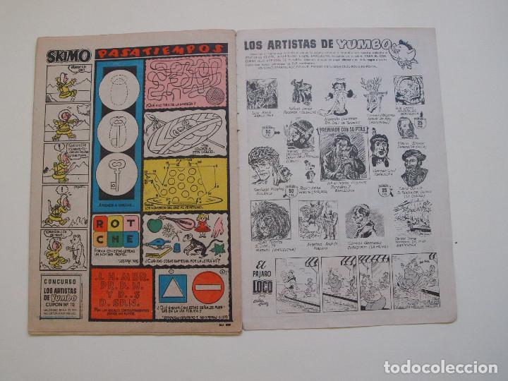 Tebeos: YUMBO Nº 277 - AÑO VI - SEMANARIO INFANTIL - EDITORIAL CLIPER 1953 - Foto 5 - 130802960