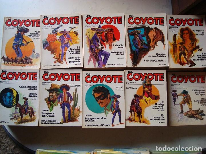EL COYOTE 95 VOLUMENES (Tebeos y Comics - Cliper - El Coyote)