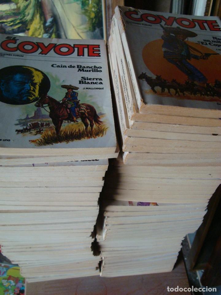 Tebeos: EL COYOTE 95 VOLUMENES - Foto 3 - 130841380