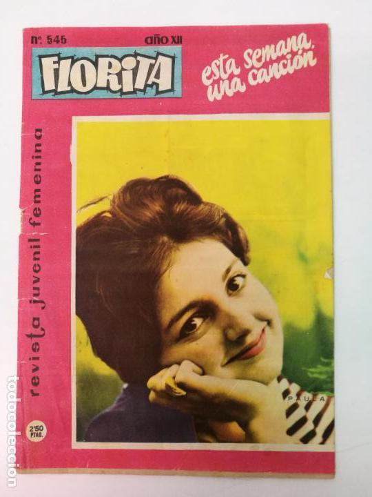 FLORITA N°545 (Tebeos y Comics - Cliper - Florita)