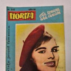 Tebeos: FLORITA N°547. Lote 132081674