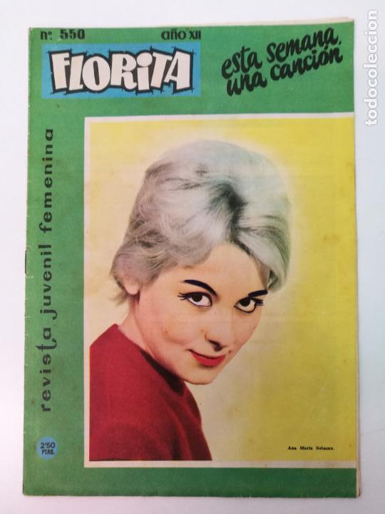 FLORITA N°550 (Tebeos y Comics - Cliper - Florita)