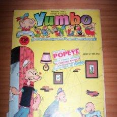 Tebeos: YUMBO - NÚMERO 232. Lote 132168286