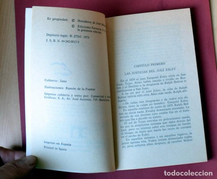 Tebeos: EL COYOTE Nº 9. SIERRA DE ORO - JOSE MALLORQUI. AÑO 1973. EDICIONES FAVENCIA - Foto 3 - 133706462