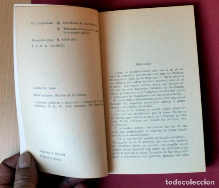Tebeos: EL COYOTE Nº 14.LA VICTORIA DEL COYOTE - JOSE MALLORQUI. AÑO 1973. EDICIONES FAVENCIA - Foto 3 - 133710314