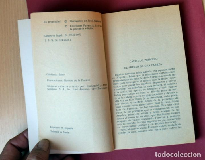 Tebeos: EL COYOTE Nº 15. EL HIJO DEL COYOTE - JOSE MALLORQUI. AÑO 1973. EDICIONES FAVENCIA - Foto 3 - 133710670