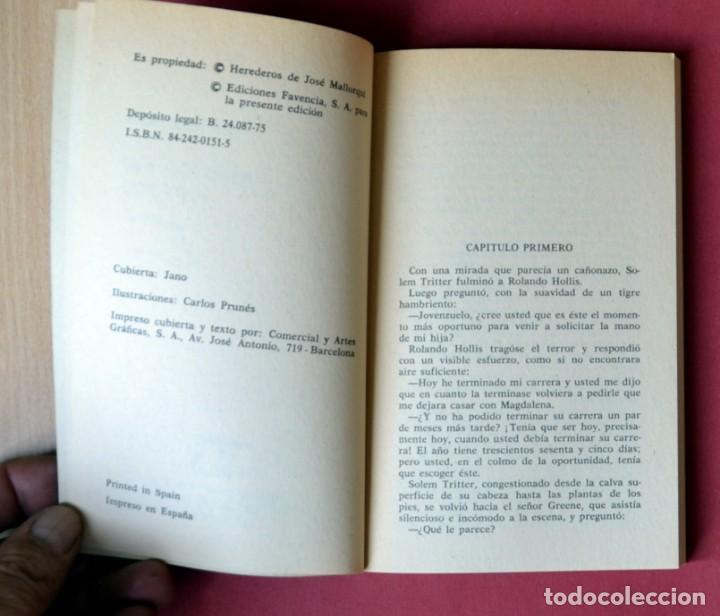 Tebeos: EL COYOTE Nº 121. PROTEGIDO DEL COYOTE - JOSE MALLORQUI. AÑO 1975. EDICIONES FAVENCIA - Foto 3 - 133858754