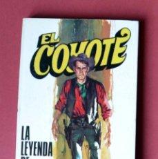Tebeos: EL COYOTE Nº 118.LA LEYENDA DE CHICO ROMERO - JOSE MALLORQUI. AÑO 1974. EDICIONES FAVENCIA. Lote 133859162