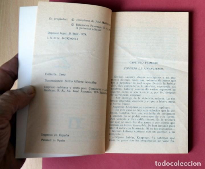 Tebeos: EL COYOTE Nº 33. RAPTO - JOSE MALLORQUI. AÑO 1974. EDICIONES FAVENCIA - Foto 3 - 133860266