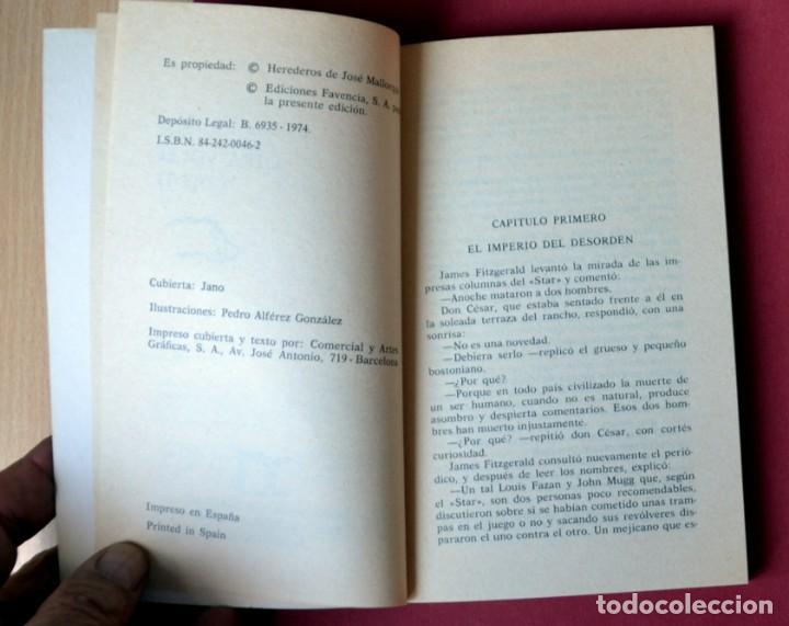 Tebeos: EL COYOTE Nº 38.OTRA VEZ EL COYOTE - JOSE MALLORQUI. AÑO 1974. EDICIONES FAVENCIA - Foto 3 - 133862894