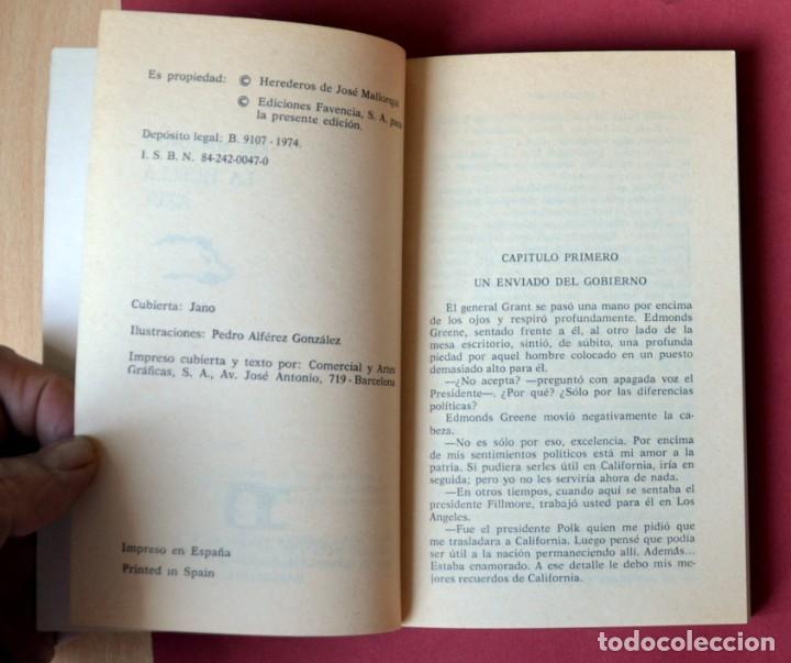 Tebeos: EL COYOTE Nº 39.LA HUELLA AZUL - JOSE MALLORQUI. AÑO 1974. EDICIONES FAVENCIA - Foto 3 - 133863014