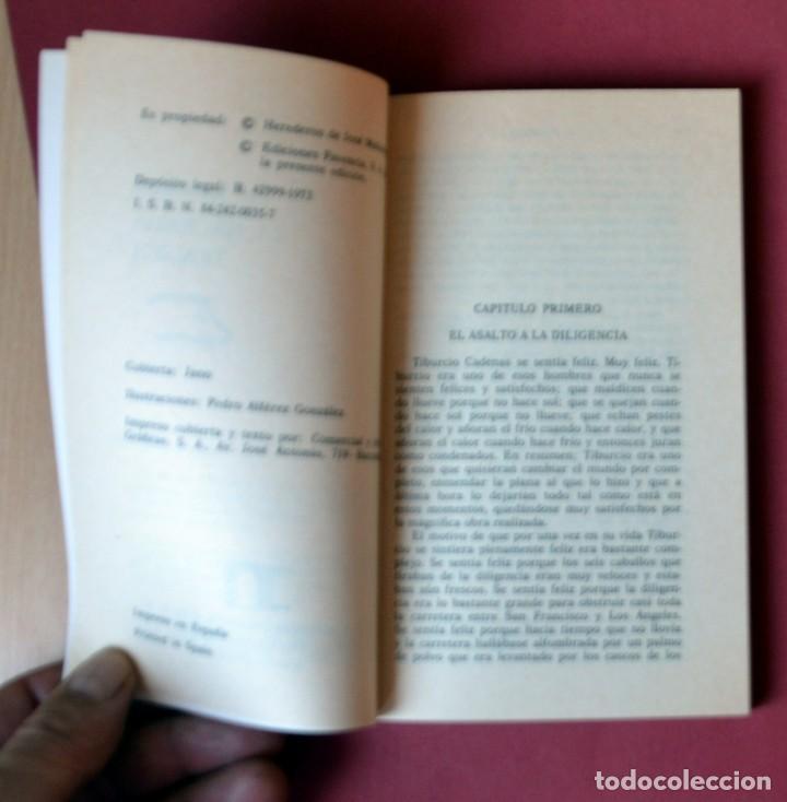 Tebeos: EL COYOTE Nº 24.LA HACIENDA TRAGICA - JOSE MALLORQUI. AÑO 1974. EDICIONES FAVENCIA - Foto 3 - 133971714