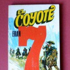 Tebeos: EL COYOTE Nº 48.7 HOMBRES MALOS - JOSE MALLORQUI. AÑO 1974. EDICIONES FAVENCIA. Lote 133971846