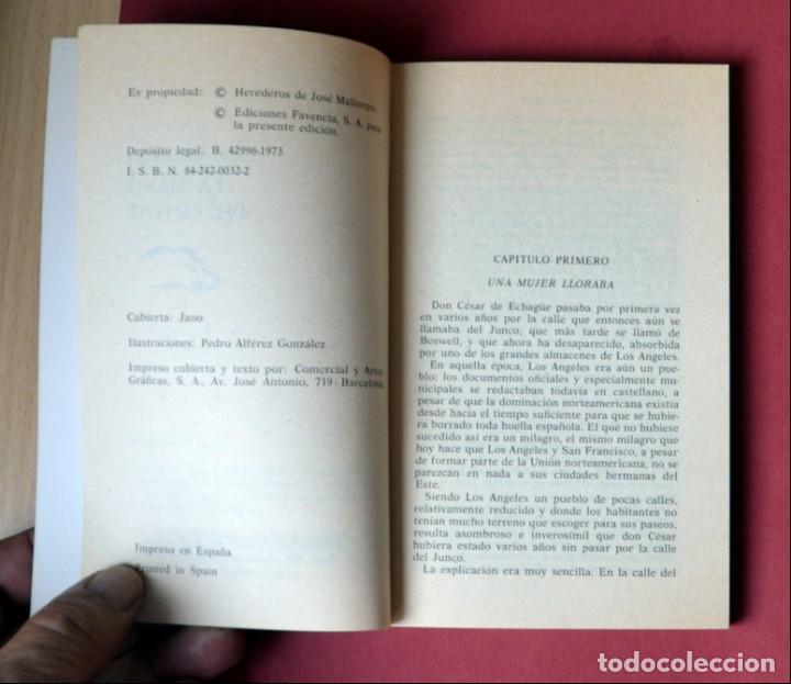 Tebeos: EL COYOTE Nº 27.LA MANO DEL COYOTE - JOSE MALLORQUI. AÑO 1973. EDICIONES FAVENCIA - Foto 3 - 133972234