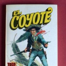 Tebeos: EL COYOTE Nº 65.TRES PLUMAS NEGRAS - JOSE MALLORQUI. AÑO 1974. EDICIONES FAVENCIA. Lote 134224418
