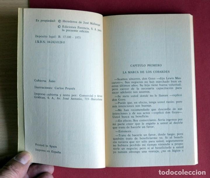 Tebeos: EL COYOTE Nº 104.EL ULTIMO DE LOS SIETE - JOSE MALLORQUI. AÑO 1975. EDICIONES FAVENCIA - Foto 3 - 134224642
