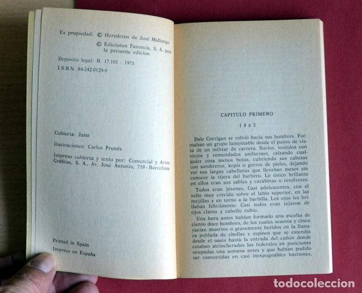 Tebeos: EL COYOTE Nº 105. LA GLORIA DE DON GOYO - JOSE MALLORQUI. AÑO 1975. EDICIONES FAVENCIA - Foto 3 - 134224890
