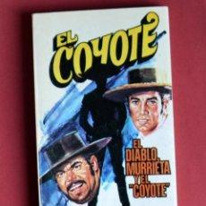 Tebeos: EL COYOTE Nº 110.EL DIABLO MURRIETA Y EL COYOTE - JOSE MALLORQUI. AÑO 1975. EDICIONES FAVENCIA. Lote 134226066