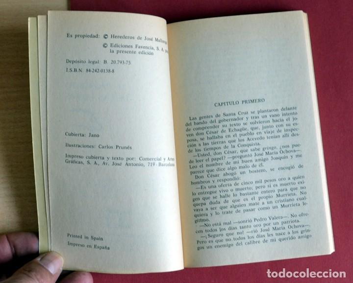 Tebeos: EL COYOTE Nº 111.EL PROSCRITO DE LAS LOMAS - JOSE MALLORQUI. AÑO 1975. EDICIONES FAVENCIA - Foto 3 - 134402230