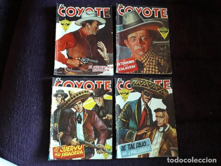 4 EJEMPLARES EL COYOTE (Tebeos y Comics - Cliper - El Coyote)