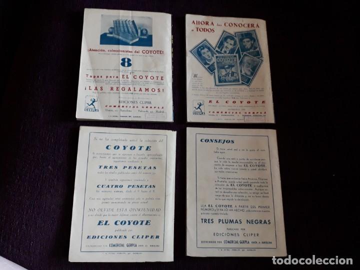 Tebeos: 4 EJEMPLARES EL COYOTE - Foto 2 - 135305046