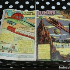 Tebeos: REVISTA FUTURO: REVISTA DE LAS RUTAS DEL ESPACIO ORIGINAL DE 1957 NUM 2. Lote 136493310