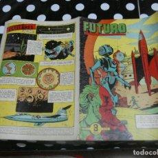 Tebeos: REVISTA FUTURO: REVISTA DE LAS RUTAS DEL ESPACIO ORIGINAL DE 1957 NUM 9. Lote 136518974