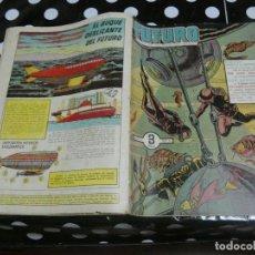 Tebeos: REVISTA FUTURO: REVISTA DE LAS RUTAS DEL ESPACIO ORIGINAL DE 1957 NUM 3. Lote 136519002