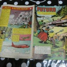 Tebeos: REVISTA FUTURO: REVISTA DE LAS RUTAS DEL ESPACIO ORIGINAL DE 1957 NUM 19. Lote 136519382