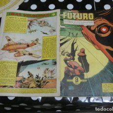 Tebeos: REVISTA FUTURO: REVISTA DE LAS RUTAS DEL ESPACIO ORIGINAL DE 1957 NUM 17. Lote 136519490