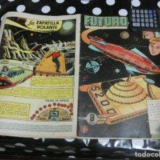 Tebeos: REVISTA FUTURO: REVISTA DE LAS RUTAS DEL ESPACIO ORIGINAL DE 1957 NUM 1. Lote 136519522