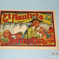 Tebeos: EL FLAUTISTA DE HAMELIN CUENTOS FAMOSOS DE EDIT. CISNE GERPLA CLIPER - AÑO 1940S. Lote 136588526