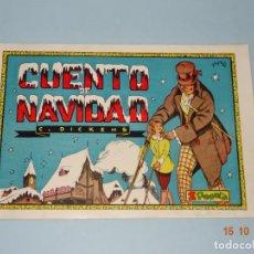 Tebeos: CUADERNOS SELECTOS Nº 40 CUENTO DE NAVIDAD DE EDIT. CISNE GERPLA - AÑO 1940S.. Lote 136589042