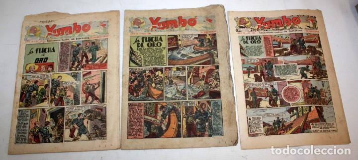 Tebeos: YUMBO-72 EJEMPLARES-(HISPANO AMERICANA)-INCLUYE ALMANAQUE DE 1939-MUY DIFICIL. - Foto 4 - 137764098