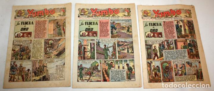Tebeos: YUMBO-72 EJEMPLARES-(HISPANO AMERICANA)-INCLUYE ALMANAQUE DE 1939-MUY DIFICIL. - Foto 5 - 137764098