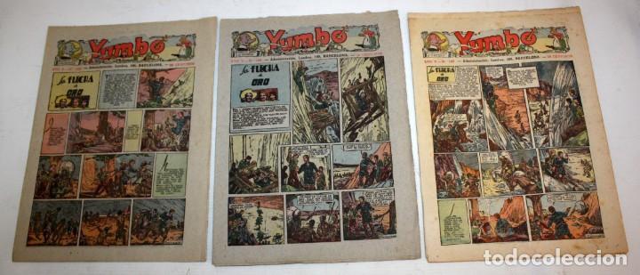 Tebeos: YUMBO-72 EJEMPLARES-(HISPANO AMERICANA)-INCLUYE ALMANAQUE DE 1939-MUY DIFICIL. - Foto 6 - 137764098