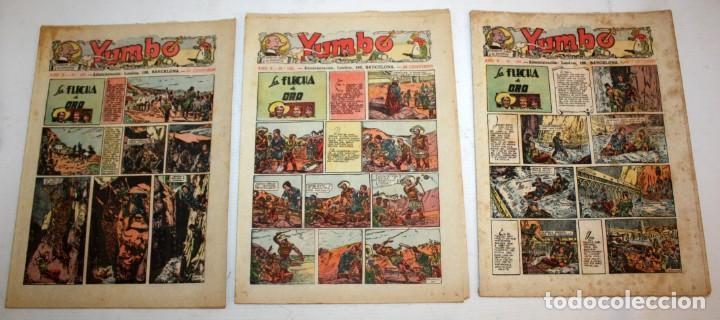 Tebeos: YUMBO-72 EJEMPLARES-(HISPANO AMERICANA)-INCLUYE ALMANAQUE DE 1939-MUY DIFICIL. - Foto 8 - 137764098