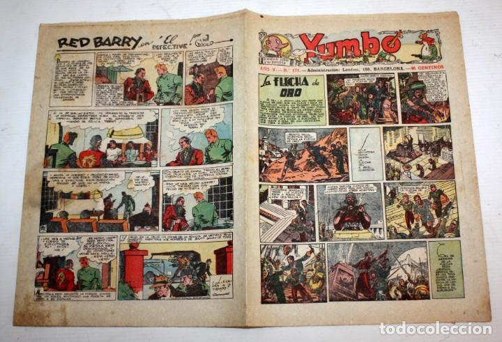 Tebeos: YUMBO-72 EJEMPLARES-(HISPANO AMERICANA)-INCLUYE ALMANAQUE DE 1939-MUY DIFICIL. - Foto 10 - 137764098